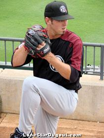 Eric Hurley. (Source: Jason Cole, LoneStarDugout.com)